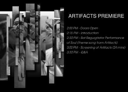 artifacts film premiere