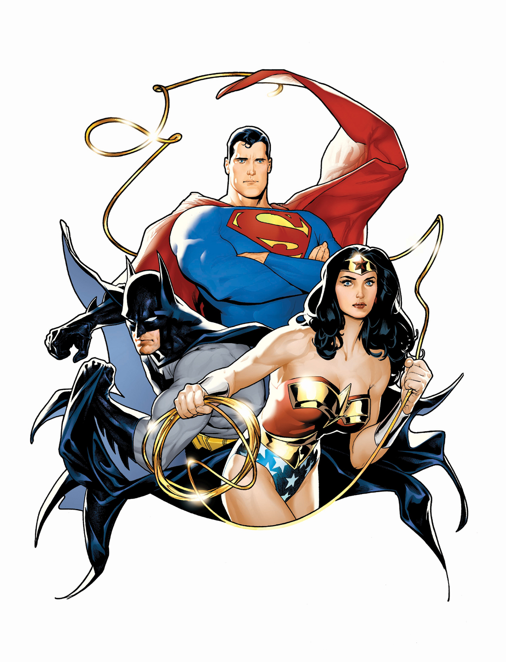 The heroesonline blog 2011 march - Superman wonder woman cartoon ...