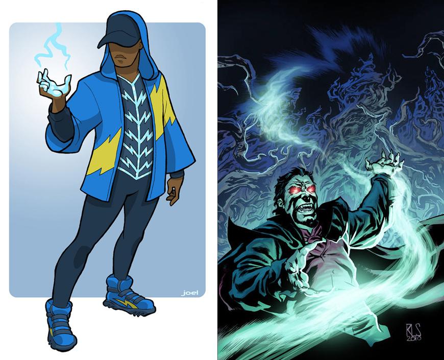 cool superhero costume designs