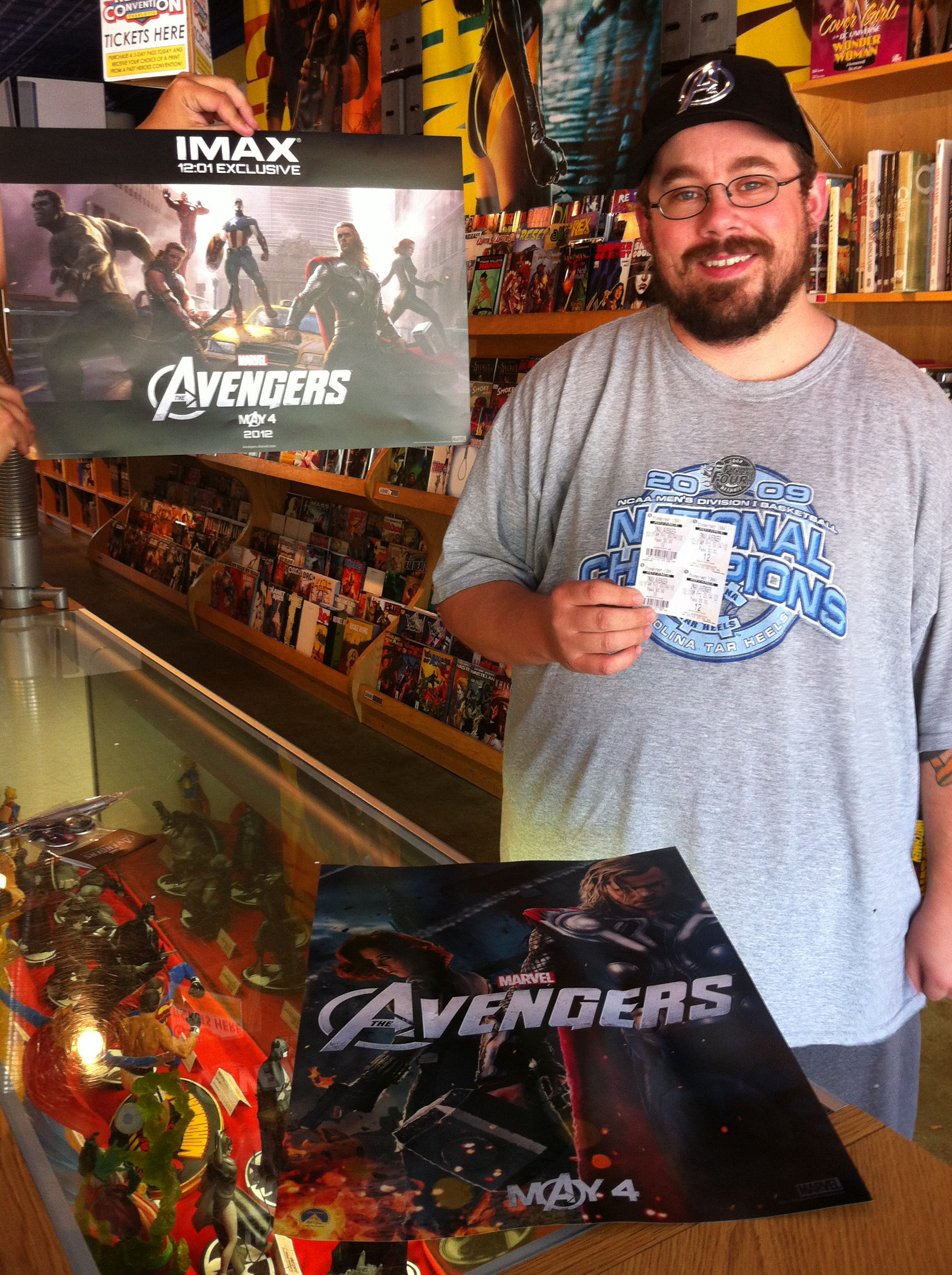 Michael Jolly - Avengers Movie Winner