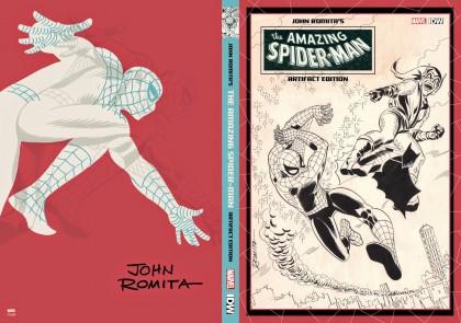 romita spiderman artifact cover VARIANT