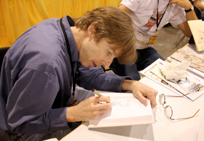 Richard at HeroesCon 2011 by Heather Peagler