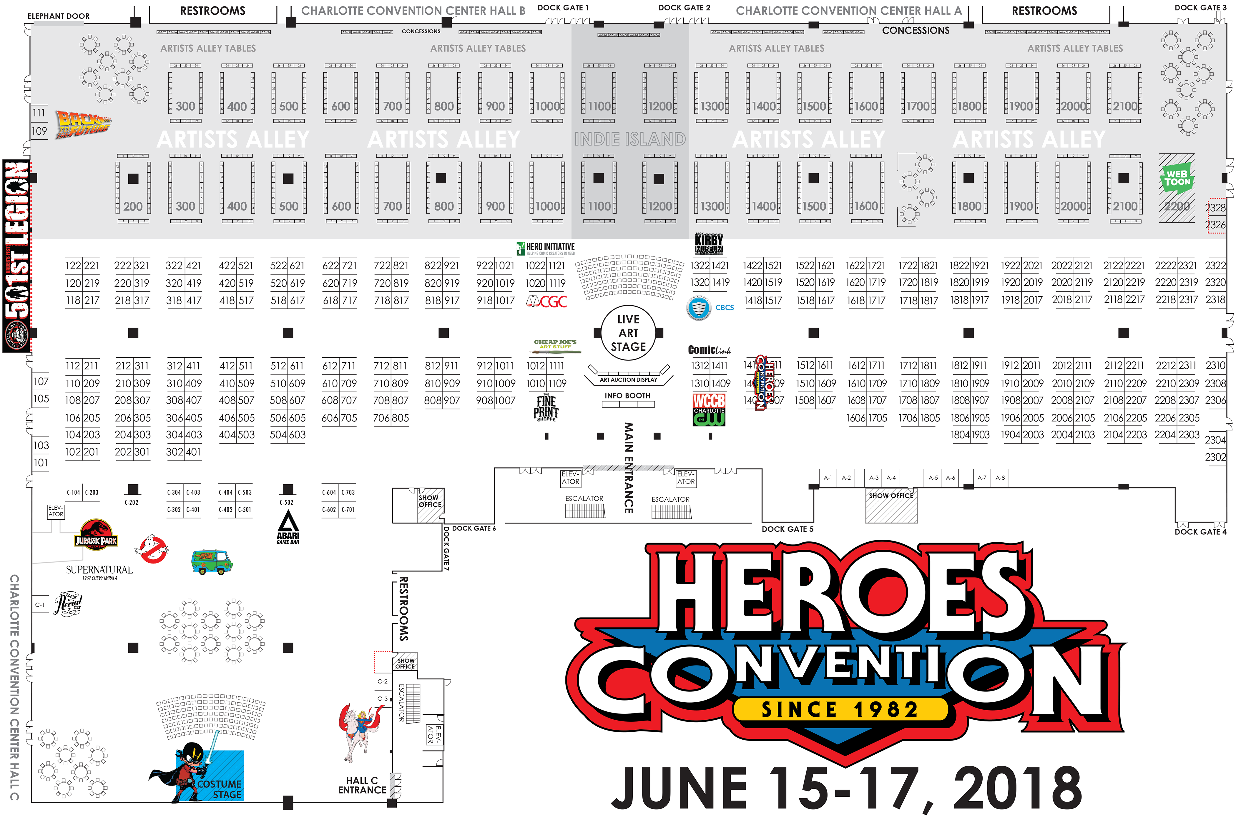 HeroesCon 2018 Floor Plan (1)