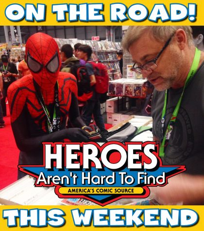 ON THE ROAD THIS WEEKEND - SPIDEY