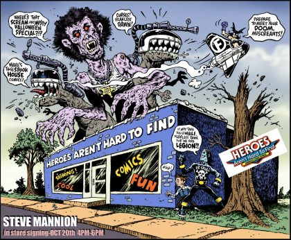 Mannion Cartoon Promo