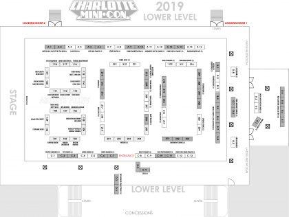 MiniCon 2018 Floor Plan