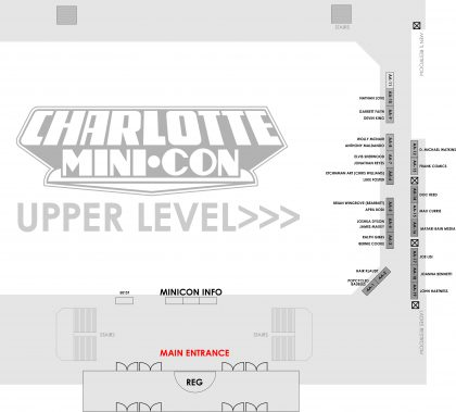 MiniCon 2018 Floor Plan