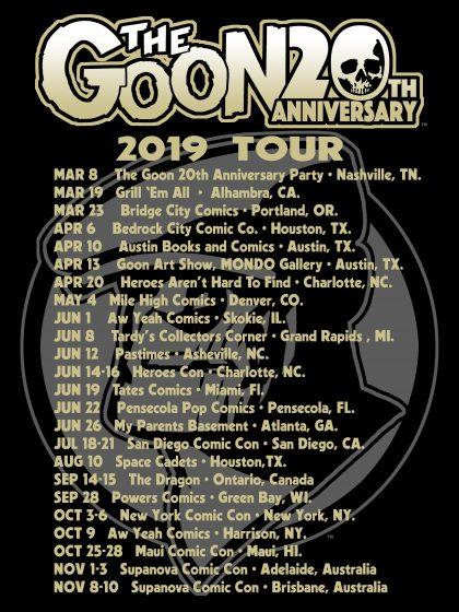 Tour Listings