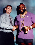 With Mr T At A Store Appearance--One Of The Coolest Heroes Stories Ever.