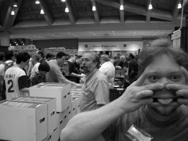 Heroes' Operations Manager Todd Harlan single-handedly ruins the Baltimore Comicon.  All of Maryland's children cry themselves to sleep that night.