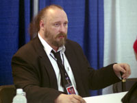 Warren Ellis at HeroesCon 06!